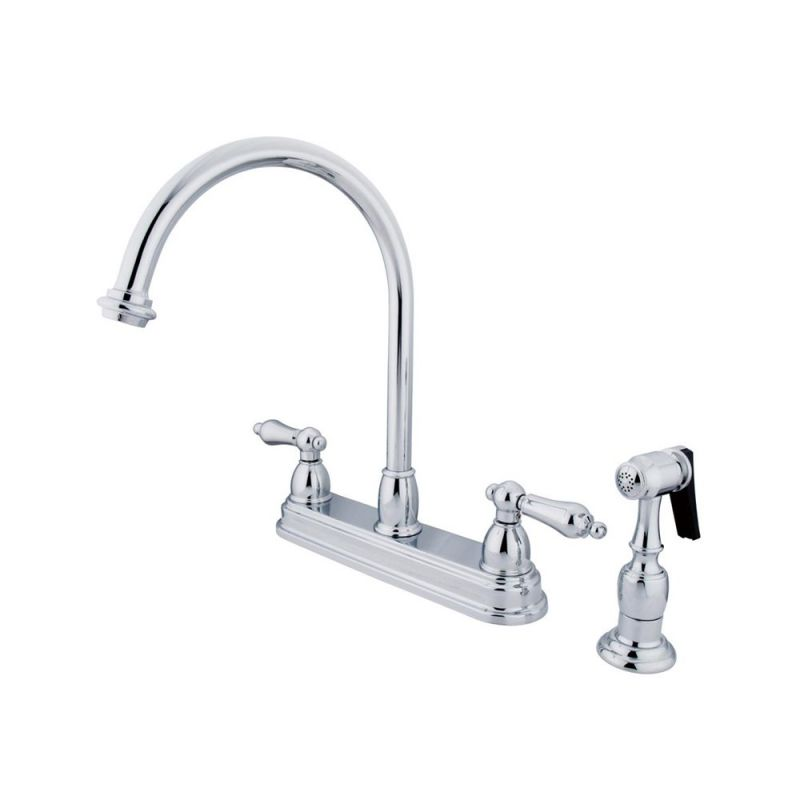 Two handle kitchen faucet Photo - 7