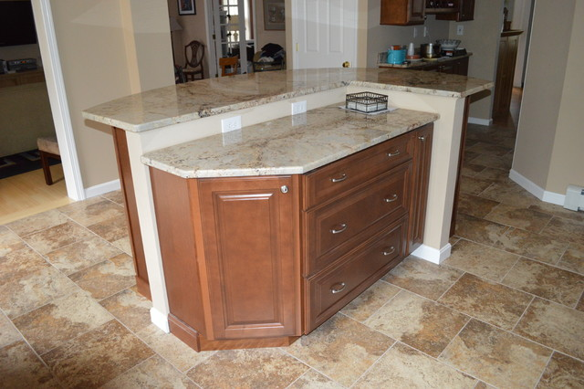 Two Tier Kitchen Island Photo 10 Kitchen Ideas
