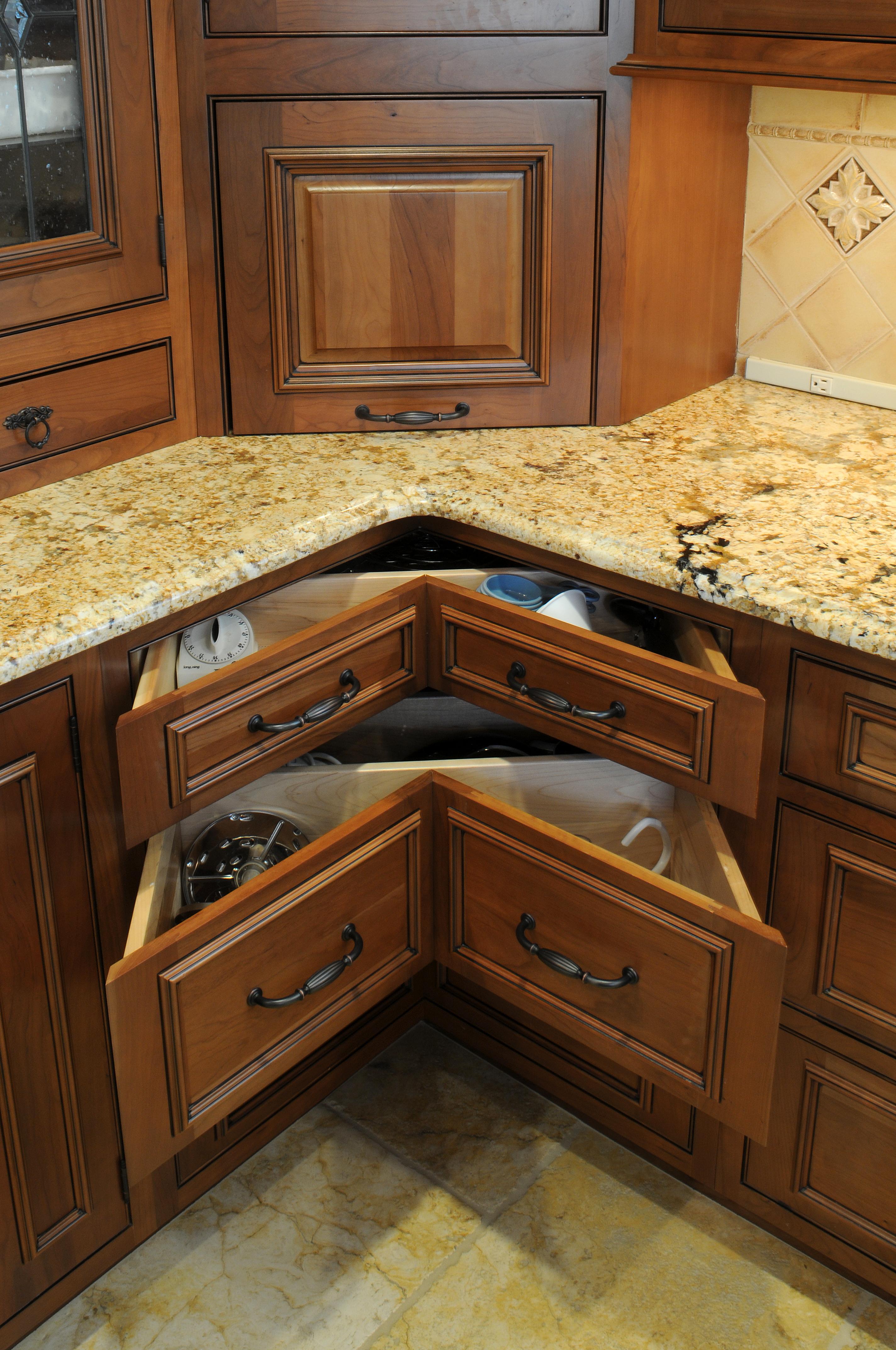 Under cabinet kitchen storage Photo - 12