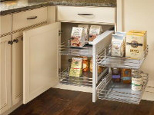 Under cabinet kitchen storage Photo - 2