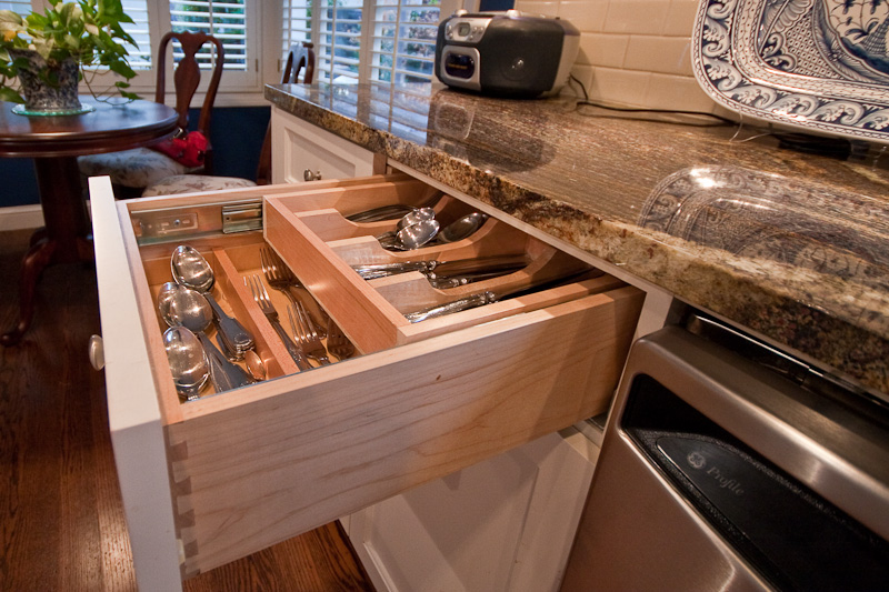 kitchen drawer organizers. mesh expandable kitchen drawer tray