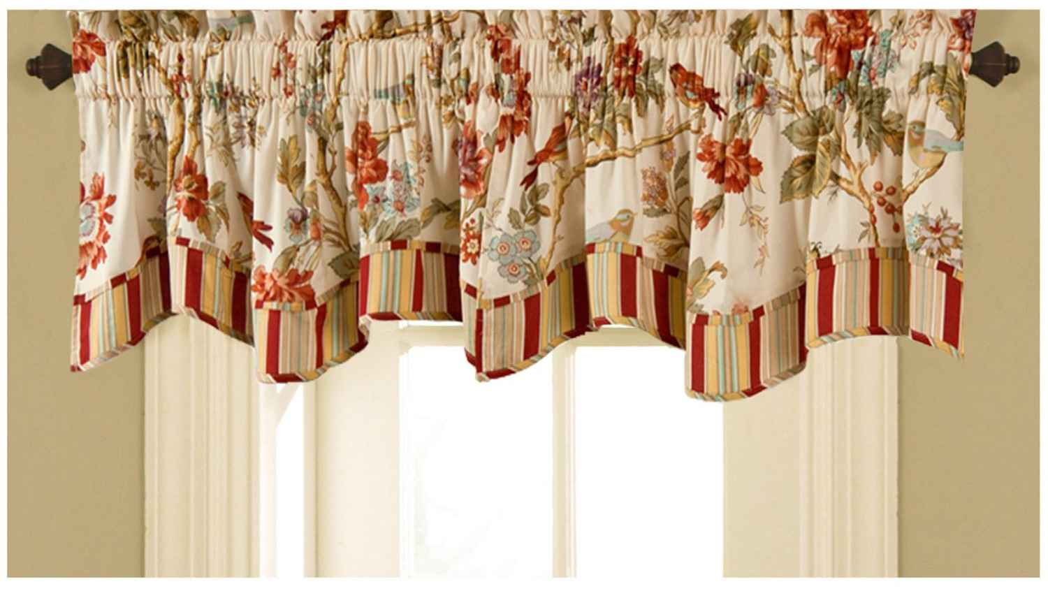 Valance curtains for kitchen Photo - 11