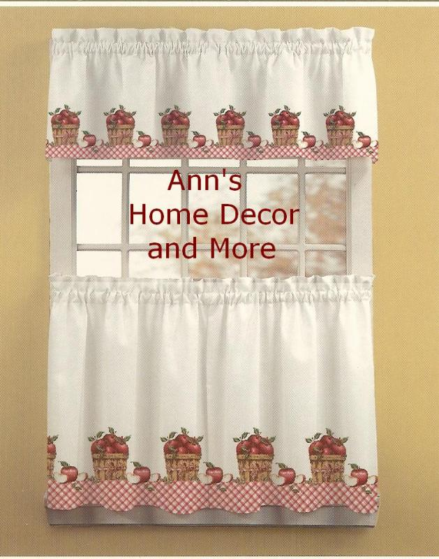 Valance curtains for kitchen Photo - 12