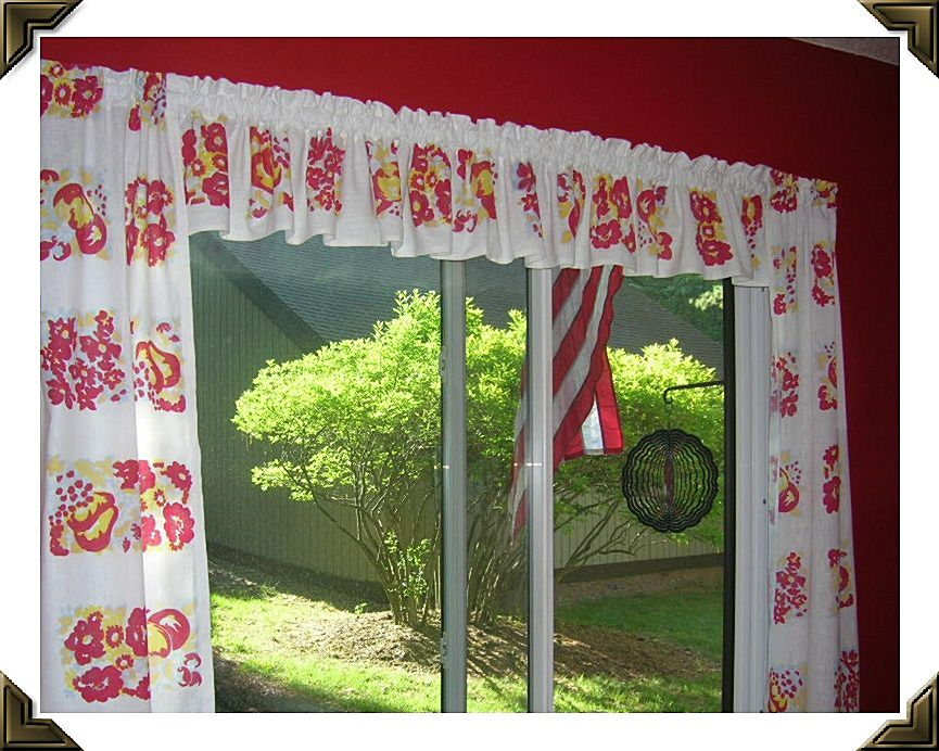 Valance curtains for kitchen Photo - 7