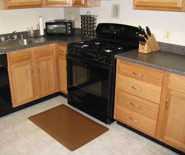 Vinyl kitchen floor mats Photo - 9