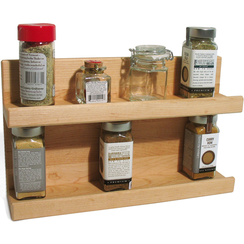 Small Countertop Spice Rack : Wall mount spice racks for kitchen Kitchen ideas