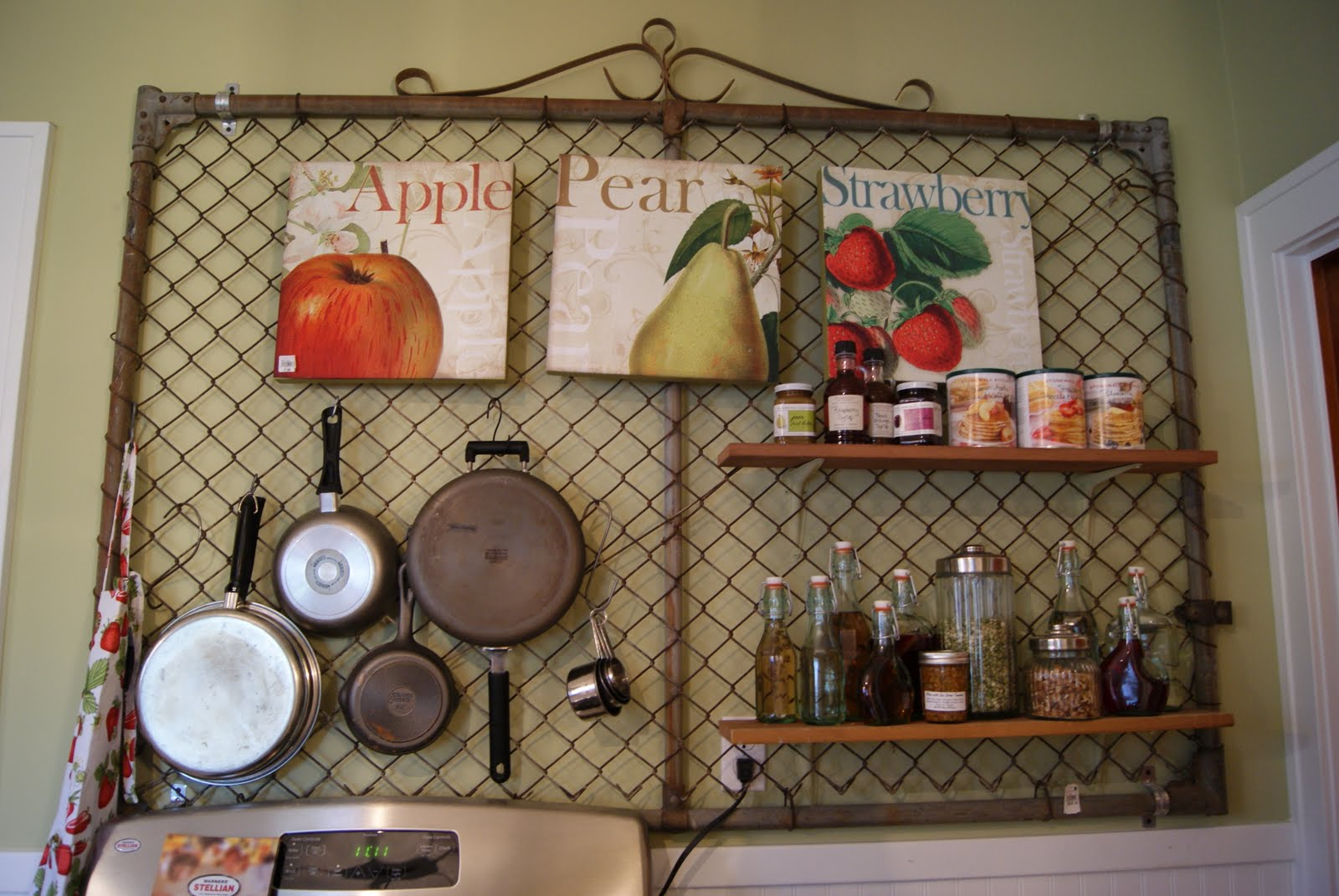 Wall mount spice racks for kitchen Photo - 6