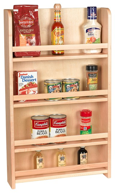 Wall mount spice racks for kitchen Photo - 7