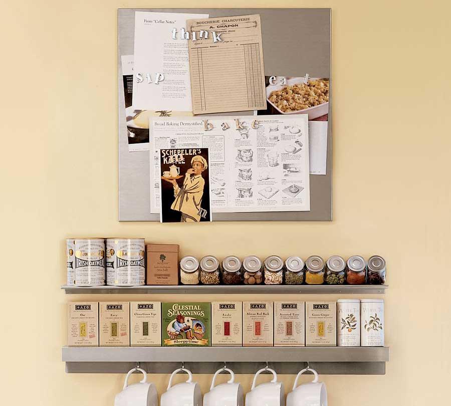 Wall mounted kitchen storage Photo - 3