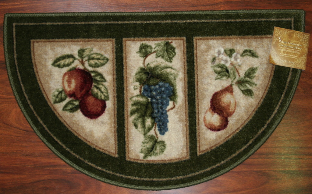 Washable kitchen area rugs kitchen ideas for Kitchen rugs with fruit design