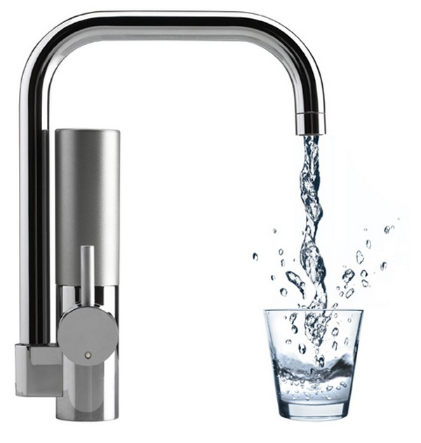 Water filter for kitchen faucet Photo - 1