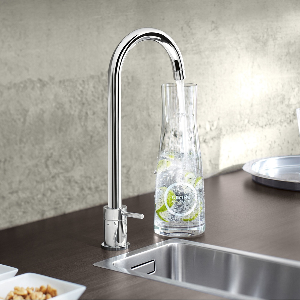 Water filter for kitchen sink Photo - 1