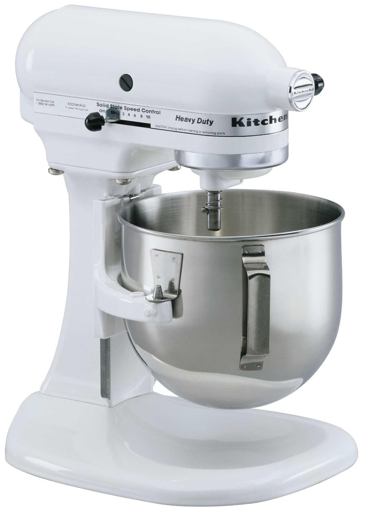 White kitchen aid mixer Photo - 1