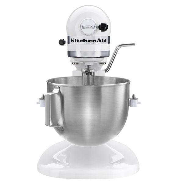 White kitchen aid mixer Photo - 3