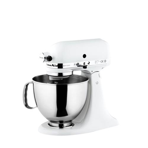 White kitchen aid mixer Photo - 7