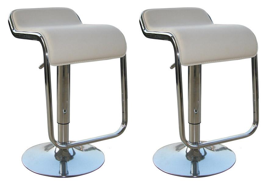White kitchen bar stools Photo - 4