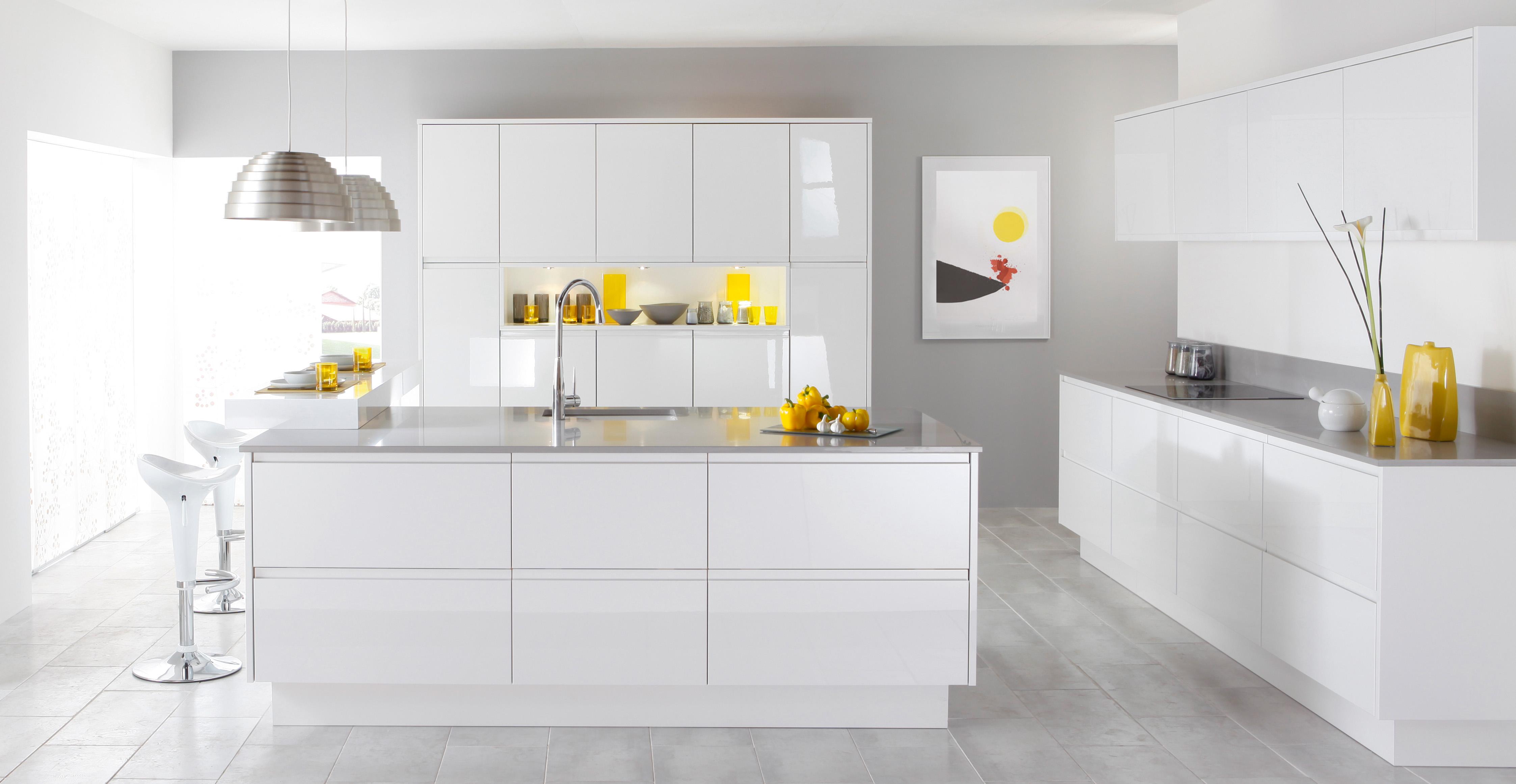 White kitchen bar stools Photo - 6