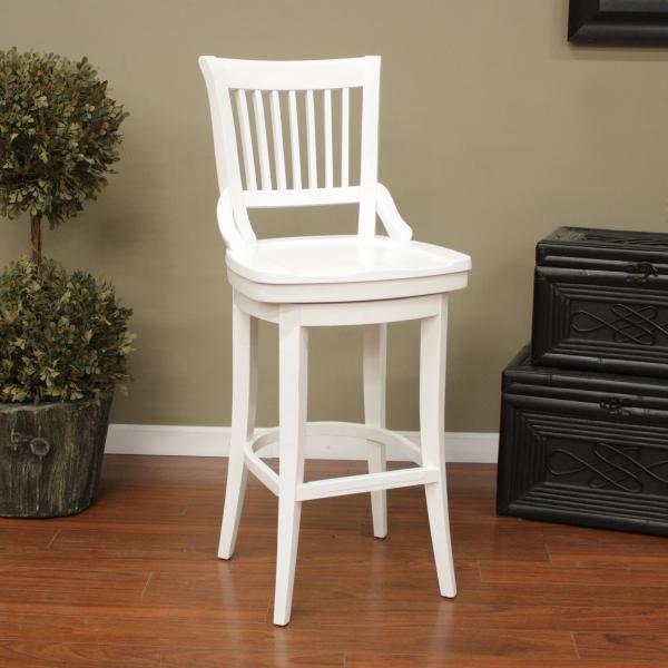 White kitchen bar stools Photo - 7