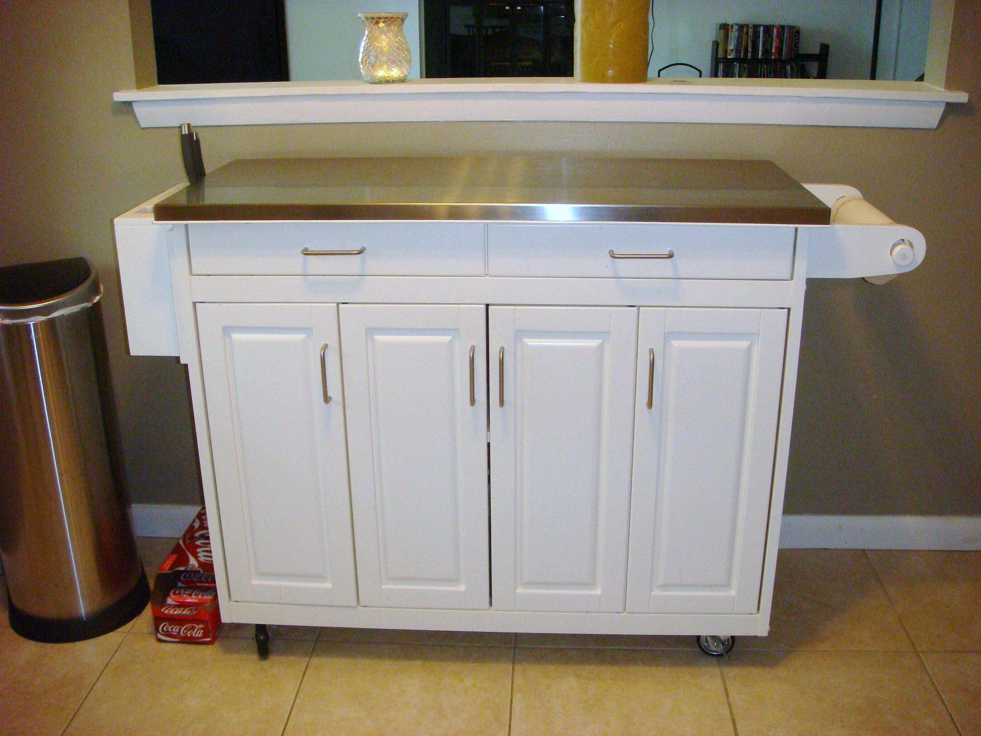 White kitchen buffet Kitchen ideas