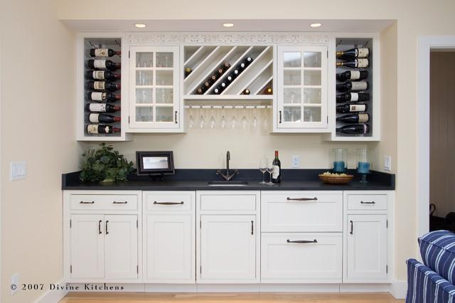 White kitchen buffet cabinet Photo - 8