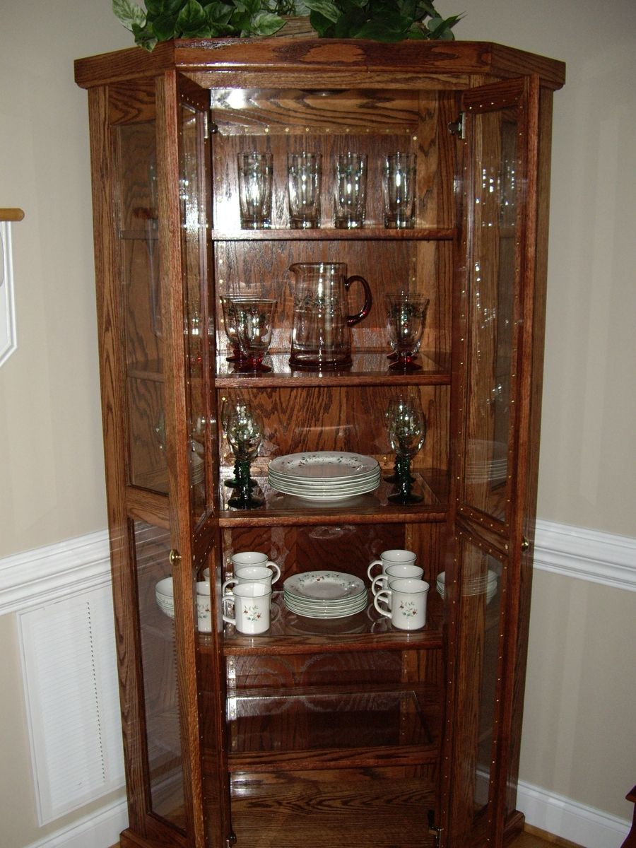 White kitchen hutch cabinet Photo - 10