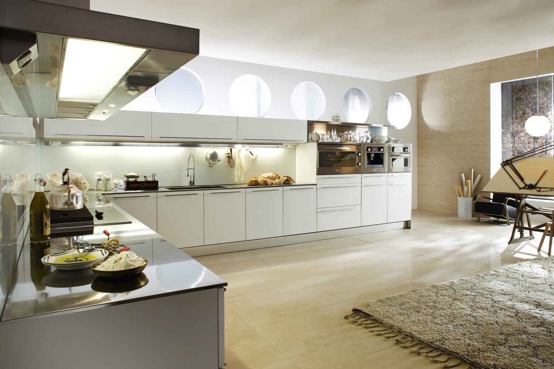 White kitchen storage Photo - 11