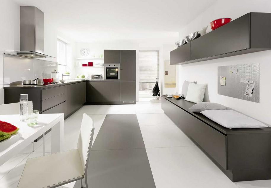 White kitchen storage Photo - 8