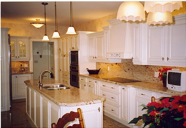 White kitchen storage cabinet Photo - 7