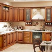 White kitchen storage cabinets with doors Photo - 1