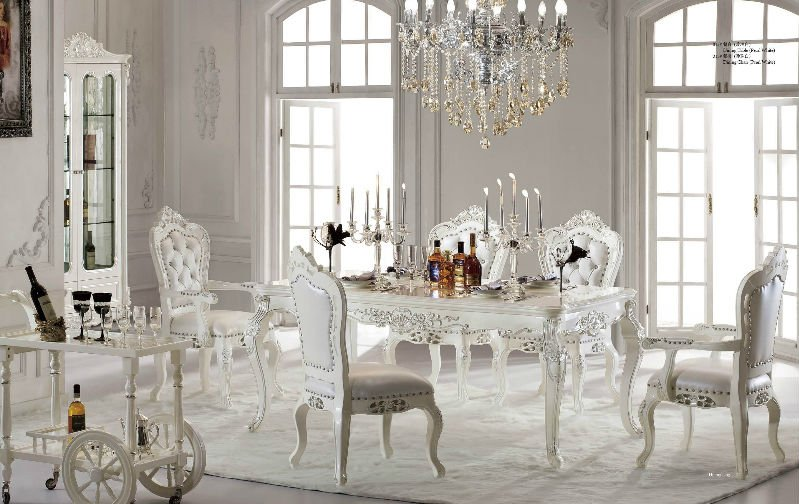 White Kitchen Table Set | Kitchen Ideas