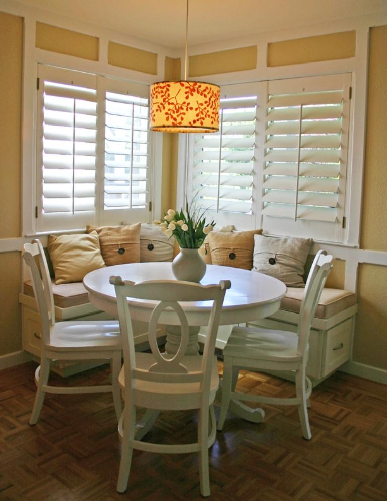 White Kitchen Table With Bench fine white kitchen table with bench charming and sophisticated