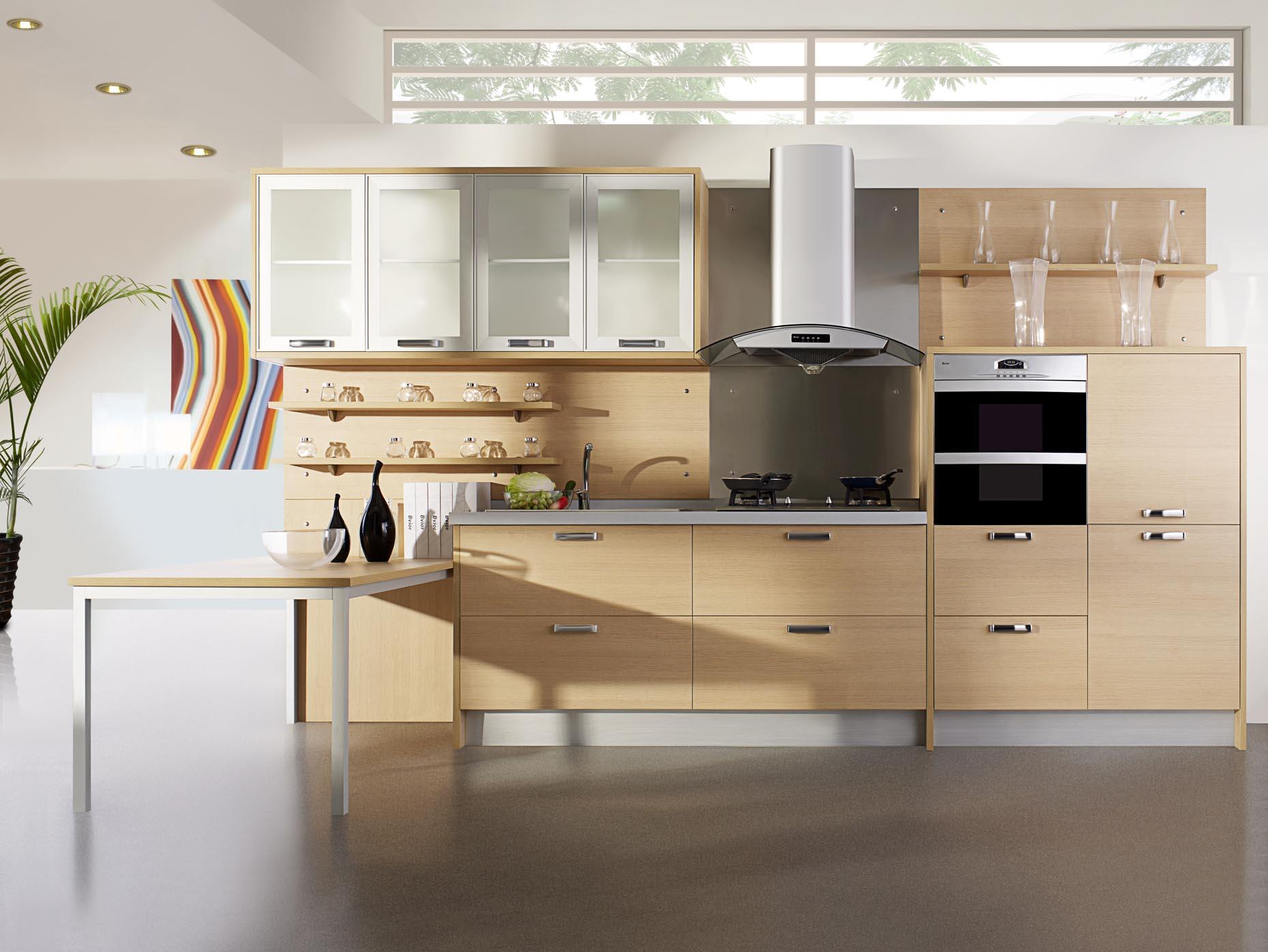 White kitchen wall cabinets Photo - 7