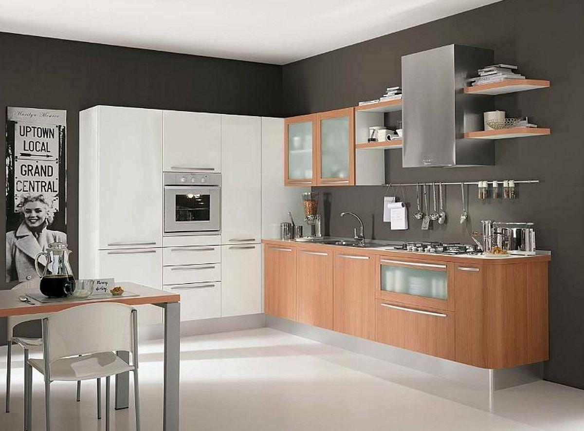 White kitchen wall cabinets Photo - 8