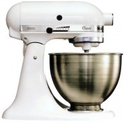 White kitchenaid mixer Photo - 1