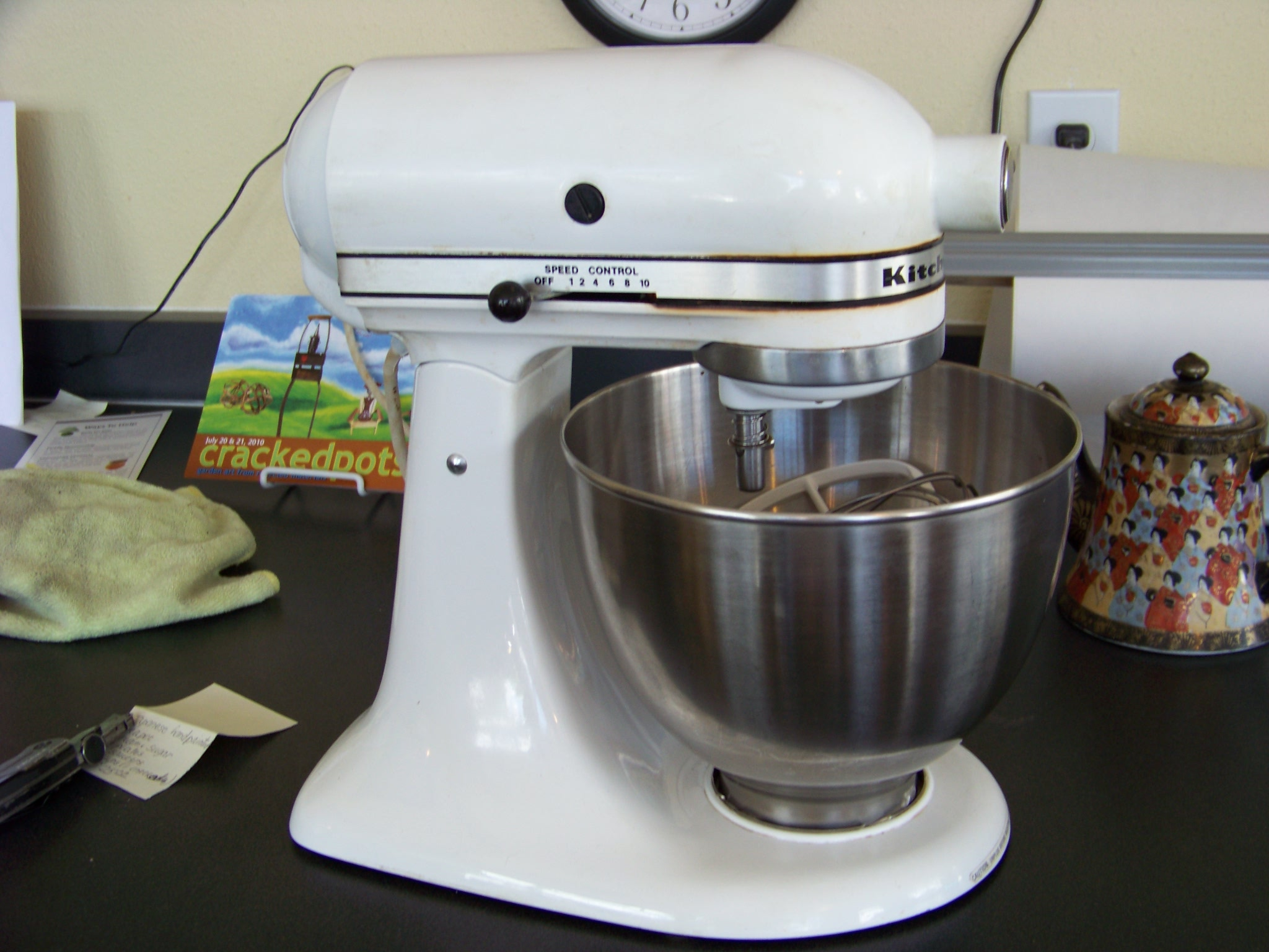 White Kitchenaid white kitchenaid mixer | kitchen ideas