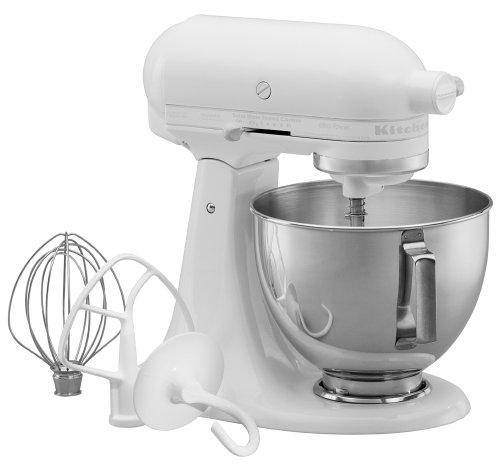 White kitchenaid stand mixer Photo - 10