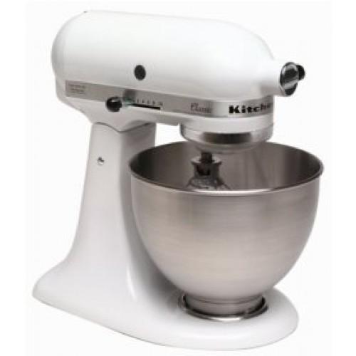 White kitchenaid stand mixer Photo - 3