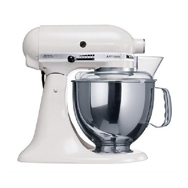 White kitchenaid stand mixer Photo - 4