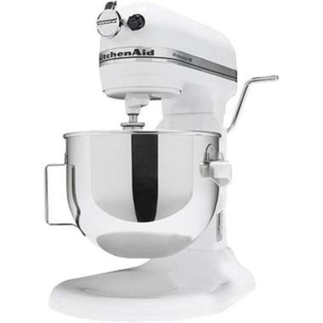 White kitchenaid stand mixer Photo - 6