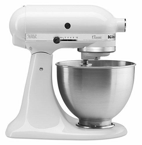 White kitchenaid stand mixer Photo - 7