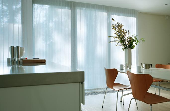 White lace kitchen curtains Photo - 6