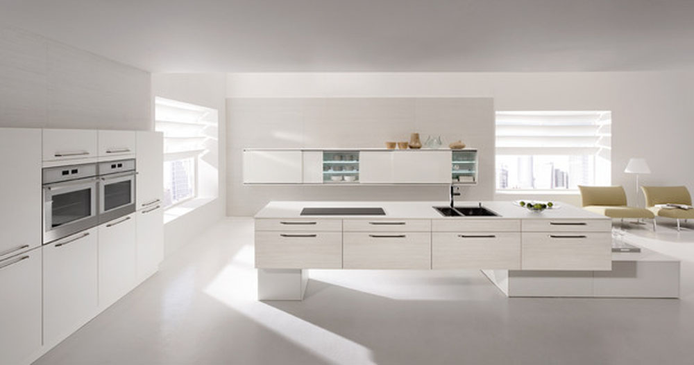 Other Photos To White Modern Kitchen
