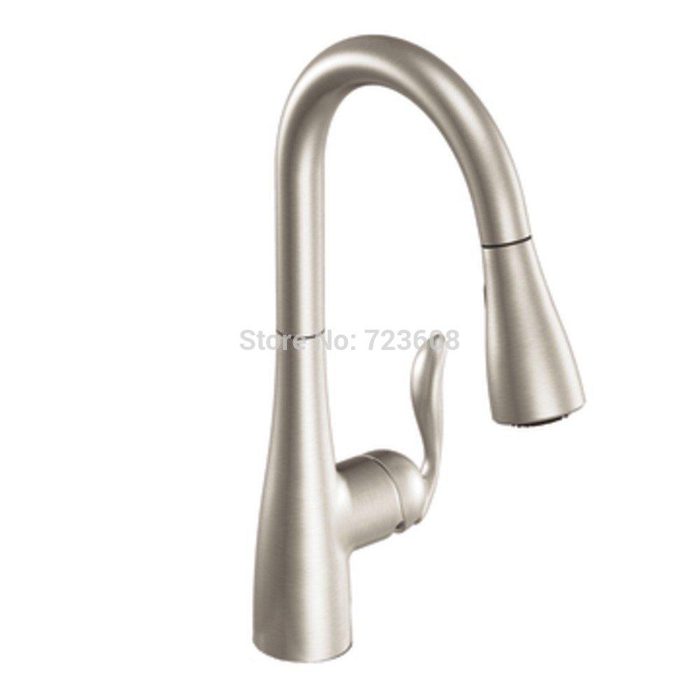 White moen kitchen faucet Photo - 6