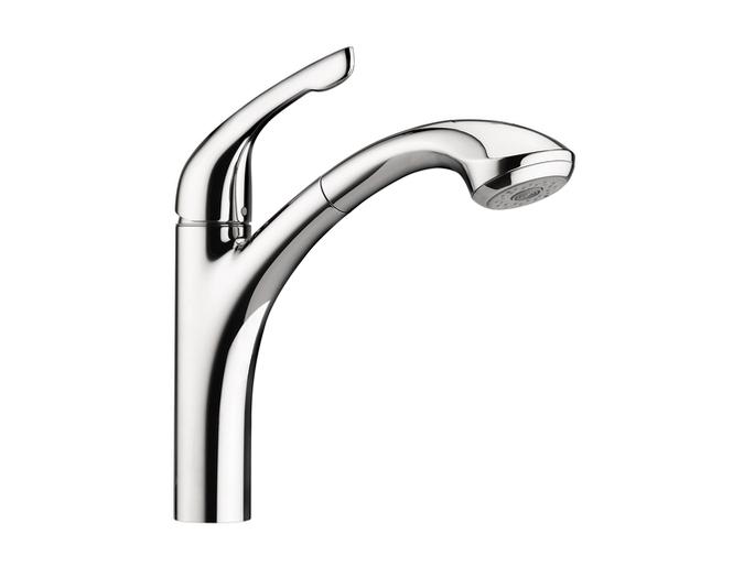 White moen kitchen faucet Photo - 7