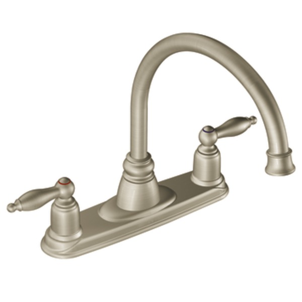 White moen kitchen faucet Photo - 8