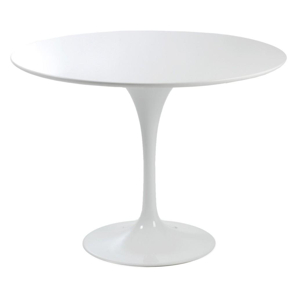 White pedestal kitchen table Photo - 10 | Kitchen ideas