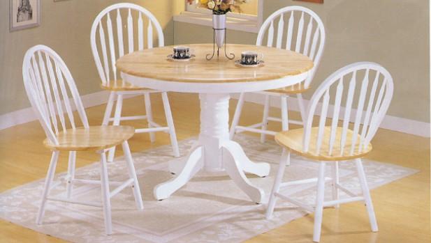 White pedestal kitchen table | | Kitchen ideas