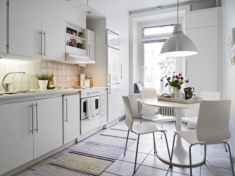 White stools for kitchen Photo - 11