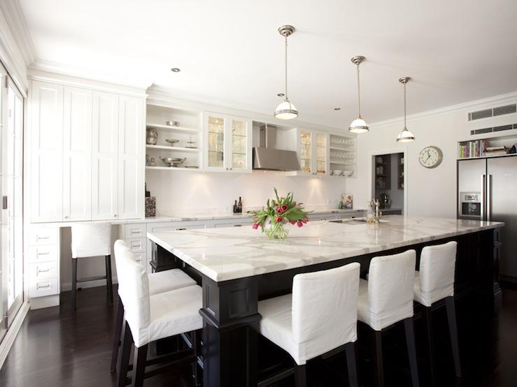 White stools for kitchen Photo - 12