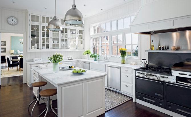 White stools for kitchen Photo - 4